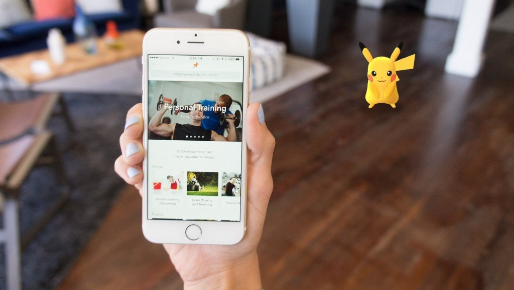 Encourage Customers to Take pictures of Pokémon caught in Your Store