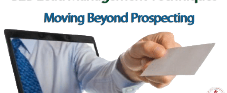 B2B Lead Management Techniques – Moving Beyond Prospecting
