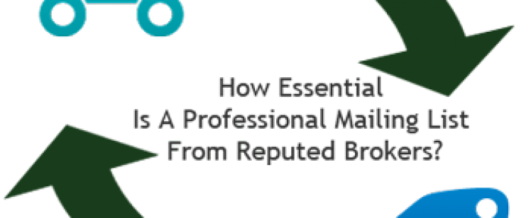 Professional Mailing List from Reputed Brokers