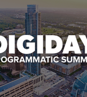 Digiday Programmatic Summit 2016 at Palm Beach, FL