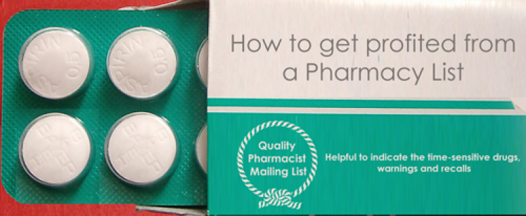 Get Profited from a Pharmacy List